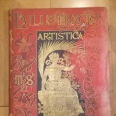 Coleccionismo de Revistas y Periódicos: REVISTA LA ILUSTRACION ARTISTICA. VARIOS Nº ENCUADERNADOS. 1893. TOMO XII. Nº 575 HASTA 626. Lote 45259608
