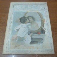 Coleccionismo de Revistas y Periódicos: IRIS REVISTA SEMANAL ILUSTRADA. NÚM. 1, BARCELONA, 13 MAYO DE 1899.. Lote 45261547