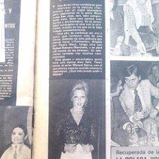 Coleccionismo de Revistas y Periódicos: RECORTE MARIA LUISA SAN JOSE. Lote 45292320