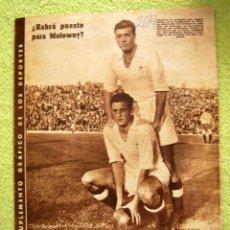 Coleccionismo de Revistas y Periódicos: DIARIO DEPORTIVO MARCA - 28 OCTU 1946 - Nº204 - POSTER DE MEDIA PAGINA DEL LEVANTE U.D..... Lote 45381736
