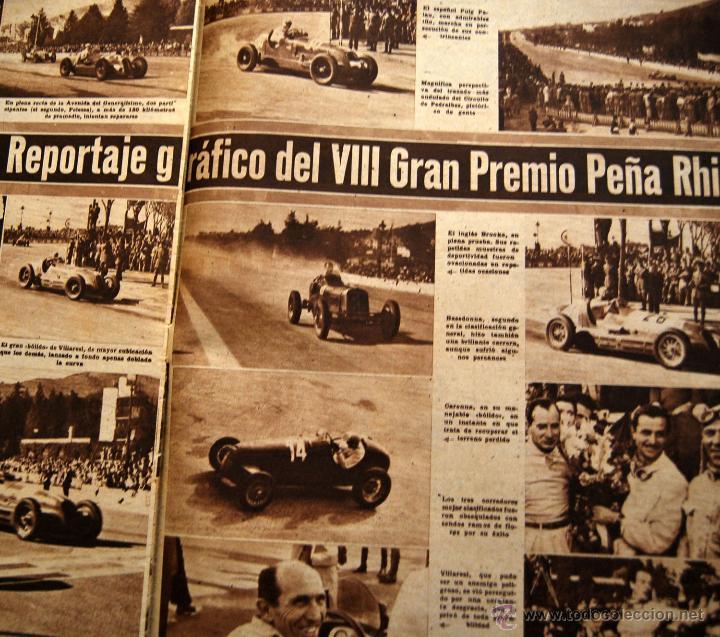 Coleccionismo de Revistas y Periódicos: DIARIO DEPORTIVO MARCA - 28 OCTU 1946 - Nº204 - POSTER DE MEDIA PAGINA DEL LEVANTE U.D.... - Foto 3 - 45381736