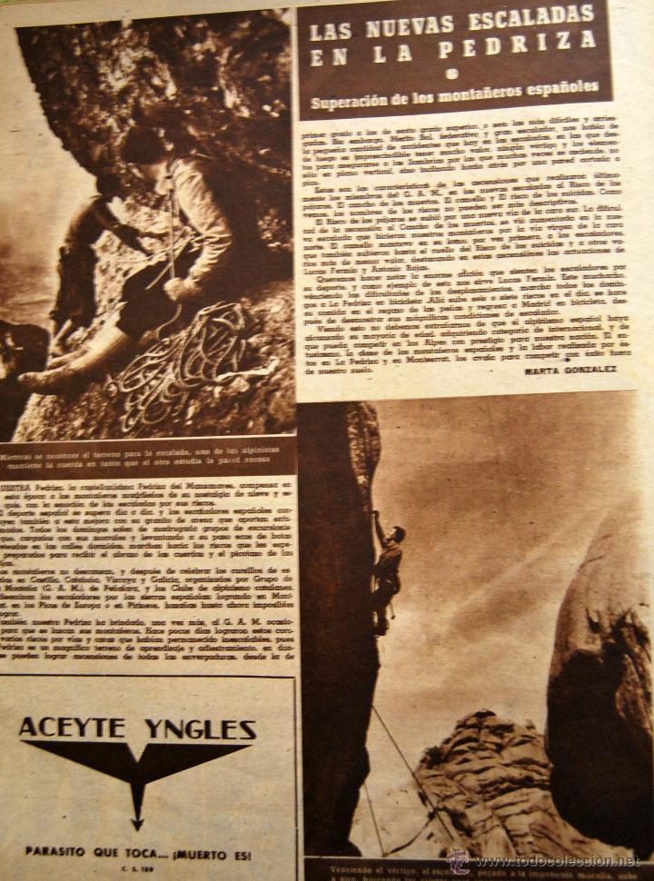 Coleccionismo de Revistas y Periódicos: DIARIO DEPORTIVO MARCA - 28 OCTU 1946 - Nº204 - POSTER DE MEDIA PAGINA DEL LEVANTE U.D.... - Foto 4 - 45381736