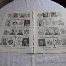Coleccionismo de Revistas y Periódicos: REPRESENTANTES EXTRANJEROS QUE ASISTEN A LA BODA REAL 2 HOJAS REVISTA BLANCO Y NEGRO 1906. Lote 45437831