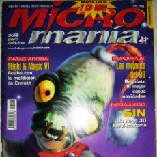 Coleccionismo de Revistas y Periódicos: REVISTA MICROMANÍA Nº47 - TERCERA ÉPOCA - AÑO XIV NÚMERO EXTRA. Lote 45492349