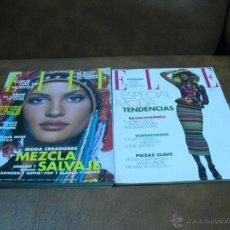 Coleccionismo de Revistas y Periódicos: REV. ELLE Nº89 RPTJE.BELEN RUEDA,MADONNA,MUCHA MODA,FOTO YOCO/LENNON-ROMY/DELON OTR. Lote 45515571