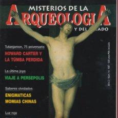 Coleccionismo de Revistas y Periódicos: REVISTA MISTERIOS DE ARQUEOLOGÍA - AÑO 1 - Nº14 - AÑO 1997 - LA RUTA DE LAS MOMIAS. Lote 45528123
