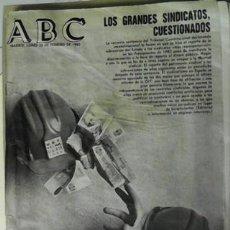 Coleccionismo de Revistas y Periódicos: ABC, 25 DE FEBRERO DE 1985. Lote 45564952