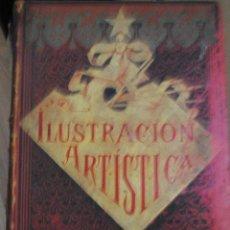 Coleccionismo de Revistas y Periódicos: LA ILUSTRACIÓN ARTÍSTICA, MAGNÍFICA COLECCIÓN DE GRABADOS, TOMO XIV, AÑO 1895, MONTANER Y SIMON BCN. Lote 45624032