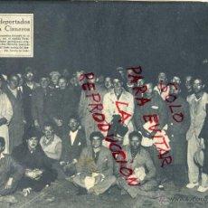 Collectionnisme de Revues et Journaux: VILLA CISNEROS 1933 EVASION DE LOS DEPORTADOS AL LLEGAR A COSTA PORTUGUESA HOJA REVISTA. Lote 45626513