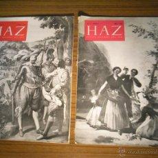 Coleccionismo de Revistas y Periódicos: REVISTAS HAZ.2 REVISTAS.. Lote 45628782