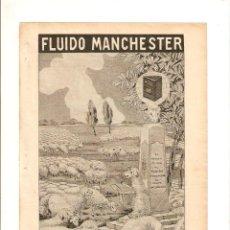 Coleccionismo de Revistas y Periódicos: AÑO 1913 RECORTE PRENSA PUBLICIDAD FLUIDO MANCHESTER ANTISARNICO SARNA . Lote 45648509