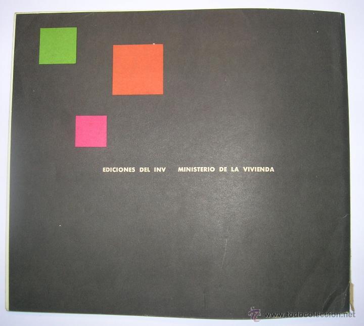 Coleccionismo de Revistas y Periódicos: INSTITUTO NACIONAL DE LA VIVIENDA, MEMORIA DE ACTIVIDADES 1962 + CUADERNILLO DISPOSICIONES LEGALES - Foto 2 - 45666939