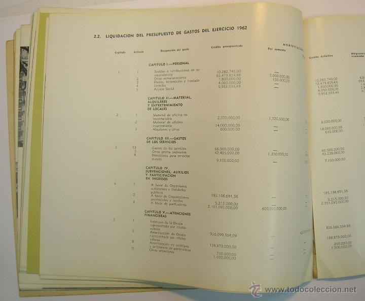 Coleccionismo de Revistas y Periódicos: INSTITUTO NACIONAL DE LA VIVIENDA, MEMORIA DE ACTIVIDADES 1962 + CUADERNILLO DISPOSICIONES LEGALES - Foto 6 - 45666939