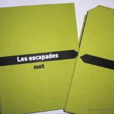 Coleccionismo de Revistas y Periódicos: LES ESCAPADES NAT. COMPLETO. CARPETA ARCHIVADOR FICHAS DE ESCAPADAS.. Lote 45675112