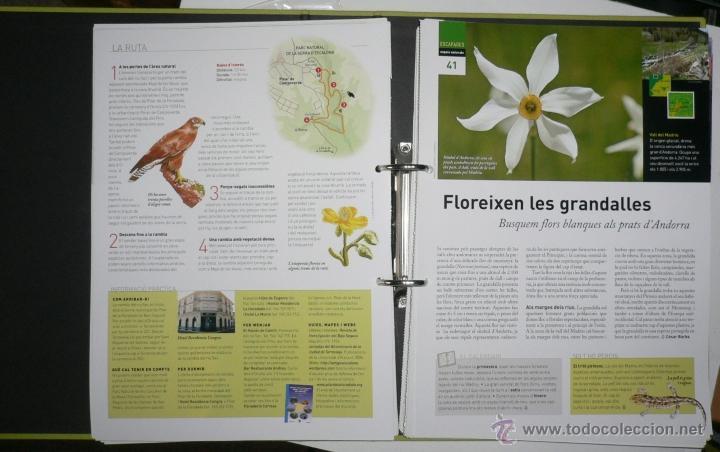 Coleccionismo de Revistas y Periódicos: LES ESCAPADES NAT. COMPLETO. CARPETA ARCHIVADOR FICHAS DE ESCAPADAS. - Foto 2 - 45675112