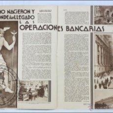 Coleccionismo de Revistas y Periódicos: ANTIGUA PUBLICACIÓN DE 1933 - ARTÍCULOS: TABACO, GIRONELL-QUERALT, ERRORES DEL CINE - BUEN ESTADO. Lote 45684104