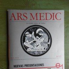 Coleccionismo de Revistas y Periódicos: ARS MEDIC. LA PRIMERA REVISTA DEL MÉDICO. AÑO IV. - Nº 34. ABRIL 1972.. Lote 45728903
