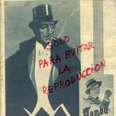 Colecionismo de Revistas e Jornais: BAMBU 1932 PAPEL DE FUMAR HOJA REVISTA. Lote 45735901