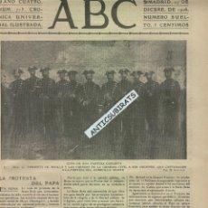 Coleccionismo de Revistas y Periódicos: ABC 1903 LA GUARDIA CIVIL DETIENE EL CABECILLA CARLISTA MOORE CARLISMO . Lote 45771727