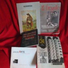Coleccionismo de Revistas y Periódicos: 5 REVISTAS CULTURALES DIFERENTES. Lote 45777986
