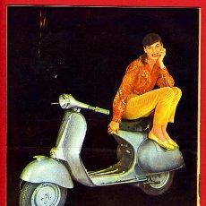 Coleccionismo de Revistas y Periódicos: REVISTA MARISOL, SEMANARIO DE LA MUJER, 1960 , CONTRAPORTADA PUBLICIDAD DE VESPA , ORIGINAL. Lote 45833089