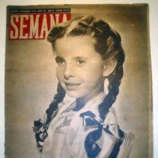 Coleccionismo de Revistas y Periódicos: REVISTA SEMANA. AÑO 1943 Nº 143. Lote 45856158