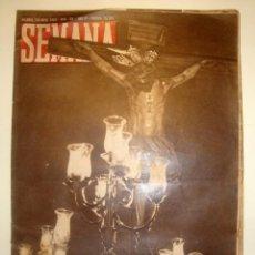 Coleccionismo de Revistas y Periódicos: REVISTA SEMANA. AÑO 1943 Nº 165. Lote 45856177