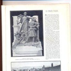 Coleccionismo de Revistas y Periódicos: AÑO 1903 GUADALQUIVIR GARCIA RODRIGUEZ DIBUJO PINTURA RELATO NOGALES MENDEZ BRINGA ESCULTURA BLAY. Lote 45862243