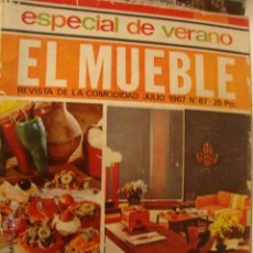 Coleccionismo de Revistas y Periódicos: REVISTA - EL MUEBLE Nº 67 AÑO 1967. Lote 45875120