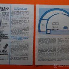 Coleccionismo de Revistas y Periódicos: ARTICULO REVISTA 06/1962 - TUNEL BAJO EL TIBIDABO - 3 PAGINA . Lote 45893028