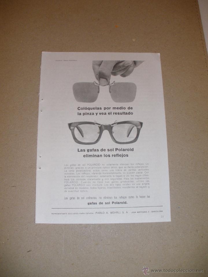 Gafas Publicidad Sol Otras Anuncio De Polaroid1964Comprar QxthsrdC