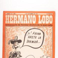 Coleccionismo de Revistas y Periódicos: REVISTA HERMANO LOBO NUMERO 18, 9 SETIEMBRE 1972. Lote 45904003