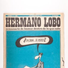 Coleccionismo de Revistas y Periódicos: REVISTA HERMANO LOBO NUMERO 31, 9 DICIEMBRE DE 1972. Lote 45904045