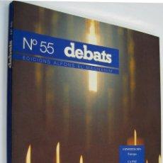 Coleccionismo de Revistas y Periódicos: DEBATS - Nº 55 MARZO 1996 *. Lote 45975823