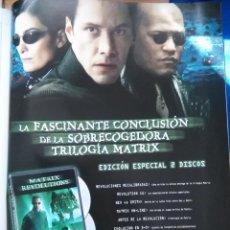 Coleccionismo de Revistas y Periódicos: RECORTE KEANU REEVES MATRIX. Lote 46000365