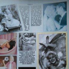 Coleccionismo de Revistas y Periódicos: RECORTE JAYNE MANSFIELD. Lote 46001889