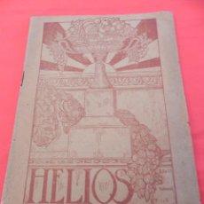 Coleccionismo de Revistas y Periódicos: ANTIGUA REVISTA NATURISTA HELIOS. VALENCIA. MARZO 1926. (FG00094). Lote 46019572