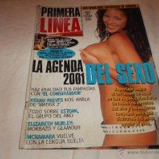 Coleccionismo de Revistas y Periódicos: PRIMERA LINEA Nº 189: KEANU REEVES. ESTOPA. ELIZABETH HURLEY. MCNAMARA. LAS FOTOS MAS SEXYS D TAMARA. Lote 46025502