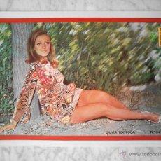 Coleccionismo de Revistas y Periódicos: PÓSTER - SILVIA TORTOSA - 1972. Lote 46066078