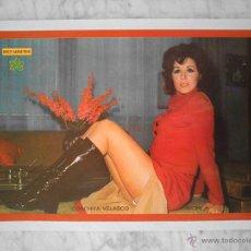 Coleccionismo de Revistas y Periódicos: PÓSTER - CONCHA CONCHITA VELASCO - 1972. Lote 46066133
