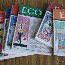 Coleccionismo de Revistas y Periódicos: LOTE DE 9 - ECO 1951- 1952 . Lote 46100575