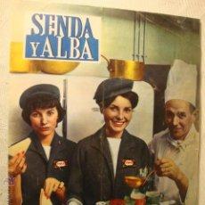 Coleccionismo de Revistas y Periódicos: REVISTA SENDA Y ALBA Nº 215 1961 AZAFATAS AVION TWA LA50. Lote 46109958