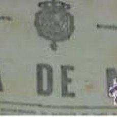 Coleccionismo de Revistas y Periódicos: GACETA MADRID 26/3/1925 CERCEDILLA, FABRICA ALCOHOL, PINOS PUENTE, LUENA, . Lote 46126588