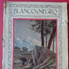Coleccionismo de Revistas y Periódicos: BLANCO Y NEGRO, REVISTA ILUSTRADA. Nº1922. 18 DE MARZO DE 1928. COMPLETA.. Lote 46132489