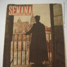 Coleccionismo de Revistas y Periódicos: REVISTA SEMANA JUNIO 1941 Nº 70 AÑO 2 . Lote 46145012