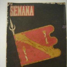 Coleccionismo de Revistas y Periódicos: REVISTA SEMANA MARZO 1940 Nº 5 AÑO 1. Lote 46145064