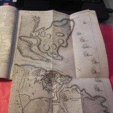 Coleccionismo de Revistas y Periódicos: ANTIGUA REVISTA INGLESA CON MAPA DEL CASTILLO DE SAN FELIPE. MENORCA. AÑO 1756.. Lote 46149847