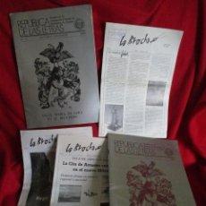 Coleccionismo de Revistas y Periódicos: 5 REVISTAS CULTURALES ARTE Y LETRAS. Lote 46151047