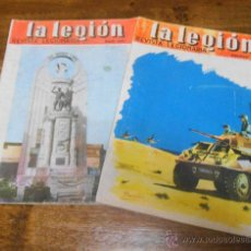 Coleccionismo de Revistas y Periódicos: LOTE DE 2 - LA LEGIÓN , REVISTA LEGIONARIA , JULIO Y AGOSTO 1961. Lote 46189439