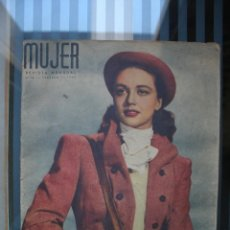 Coleccionismo de Revistas y Periódicos: REVISTA MUJER FEBRERO 1947. Lote 46191171